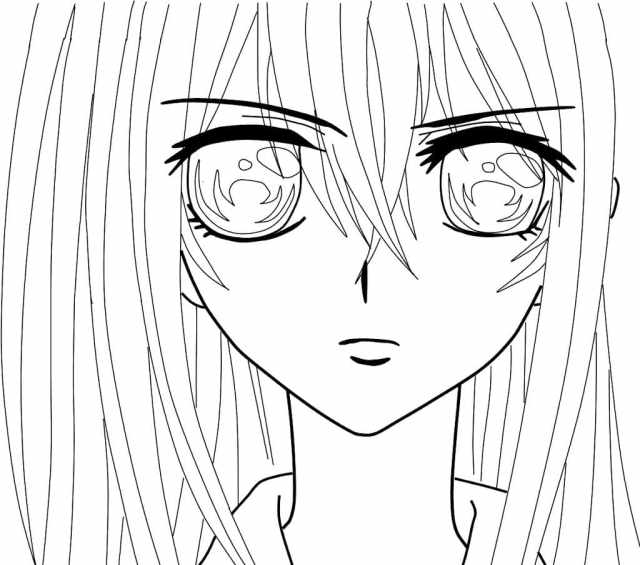 Anime Coloring Pages. Print for free  WONDER DAY — Coloring pages