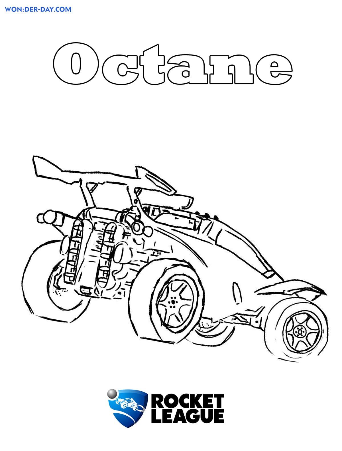 Rocket League Coloring Pages : rocket, league, coloring, pages, Rocket, League, Coloring, Pages, Print, WONDER