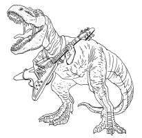 Malvorlage Dinosaurier T Rex Ausmalbild / Trex Ausmalbild ...