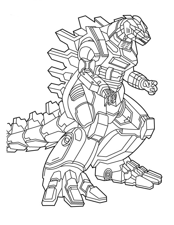 Godzilla Coloring Pages : godzilla, coloring, pages, Godzilla, Coloring, Pages, Printable