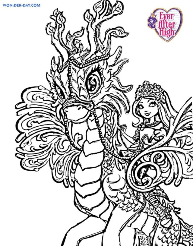 Ever After High coloring pages - Printable coloring pages