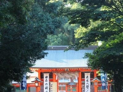 Kumano Hayatama Shrine's entrance