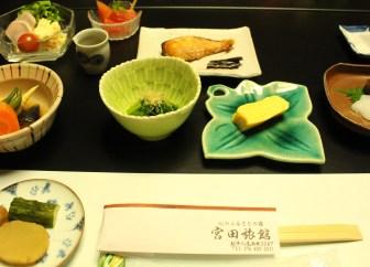 Breakfast at Miyata Ryokan