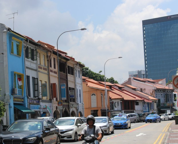 On the way to the Sultan Mosque