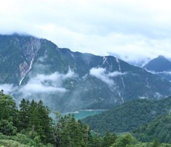 Kurobe Lake from Kurobedaira