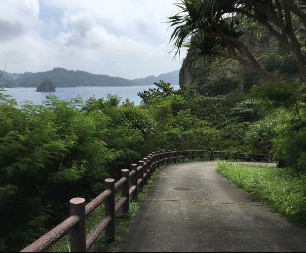 Slope to the Sakaiura Beach