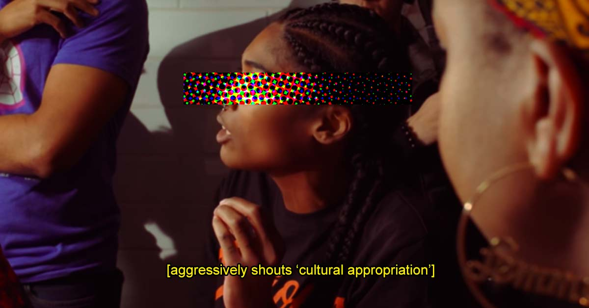 "Please Stop Shouting ""Cultural Appropriation!"" At Everything"