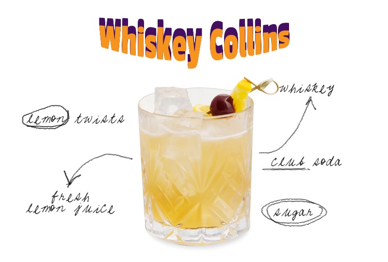 whiskey-cocktail-recipe-whiskey-collins