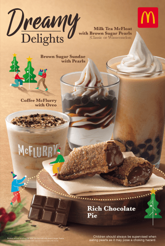 McDonald's Holiday Desserts - Wonder