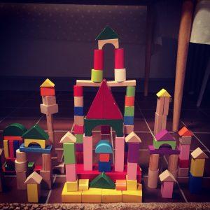 playtime with bricks