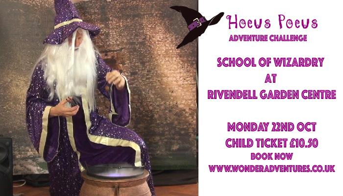 school of wizardry rivendell garden centre