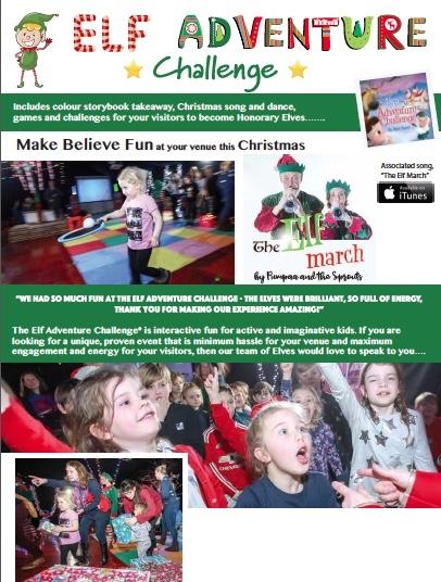 Elf adventure challenge kids events