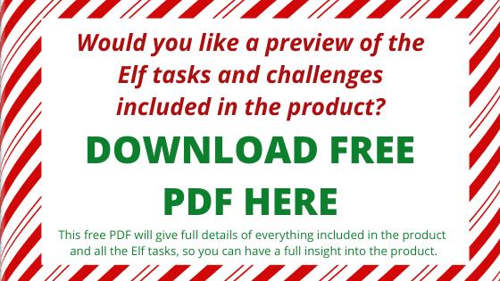 elf advent challenge pdf