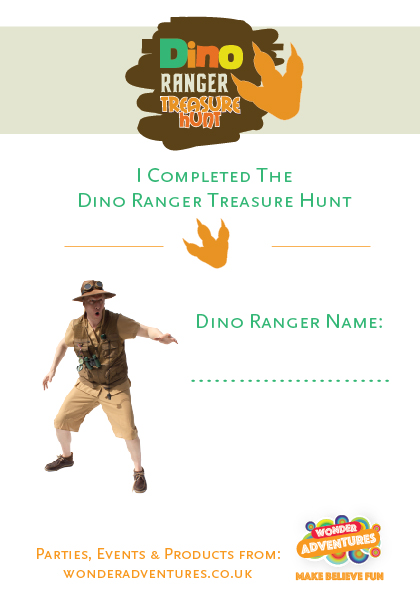 dinosaur party activity