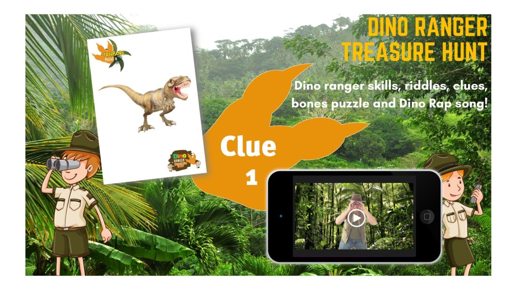 dinosaur treasure hunt