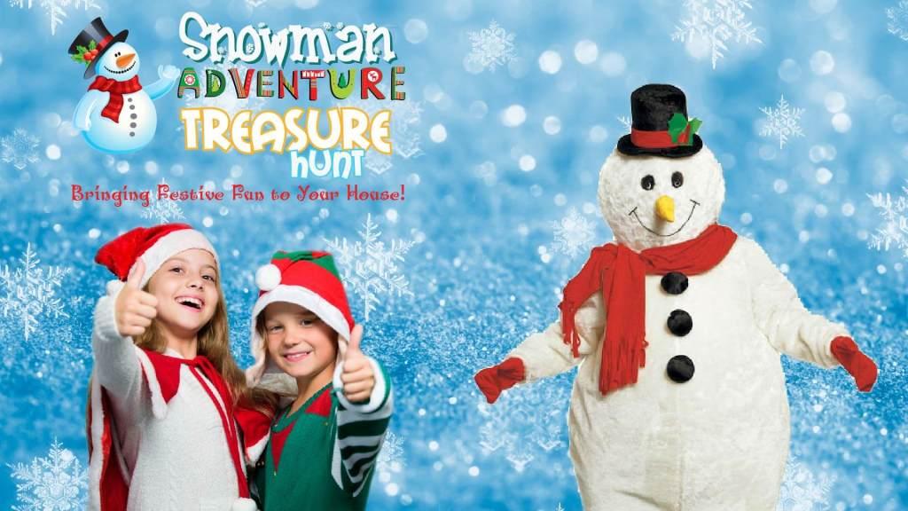 Christmas snowman event LIVE