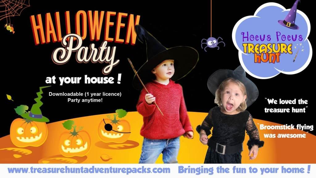 halloween treasure hunt for kids