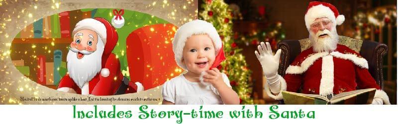 Santa story time online