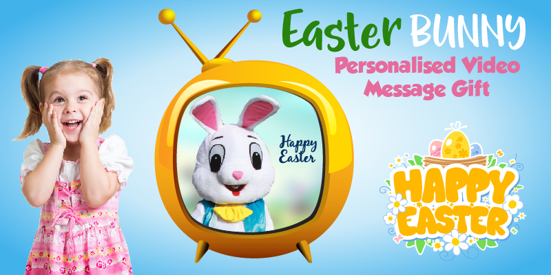 easter bunny video message