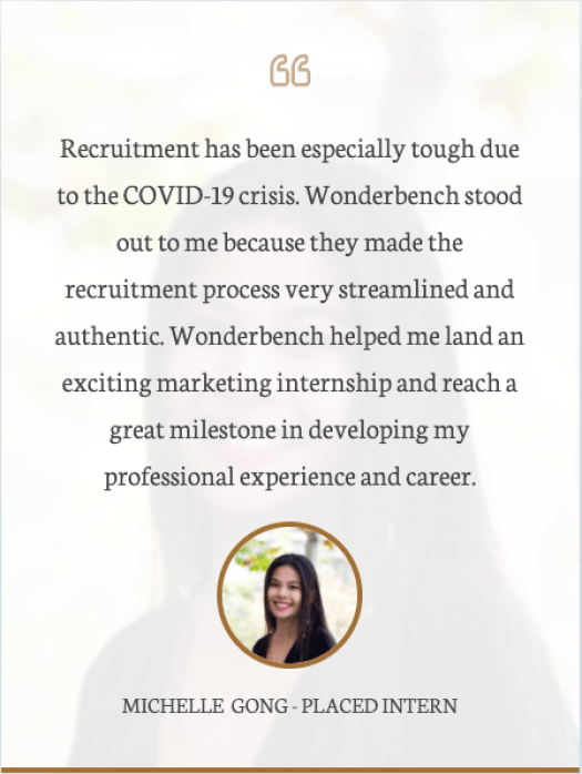 Wonderbench Marketing Intern Review