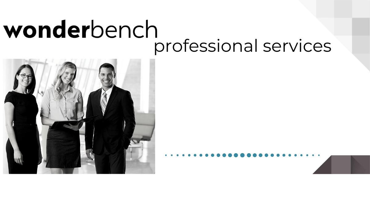 Wonderbench professional services