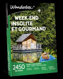 Week End Insolite Et Gourmand Wonderbox : insolite, gourmand, wonderbox, Coffret, Cadeau, Week-end, Insolite, Gourmand, Wonderbox