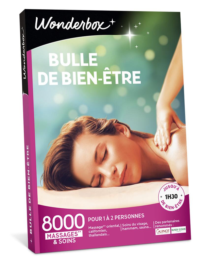 Smartbox Bien Etre Et Soins Relaxants : smartbox, soins, relaxants, Coffret, Cadeau, Bulle, Bien-Être, Wonderbox