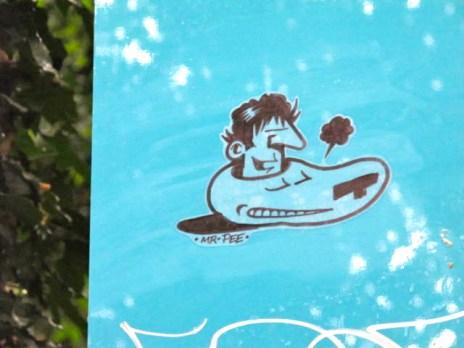 Mister Pee Stickers (3)