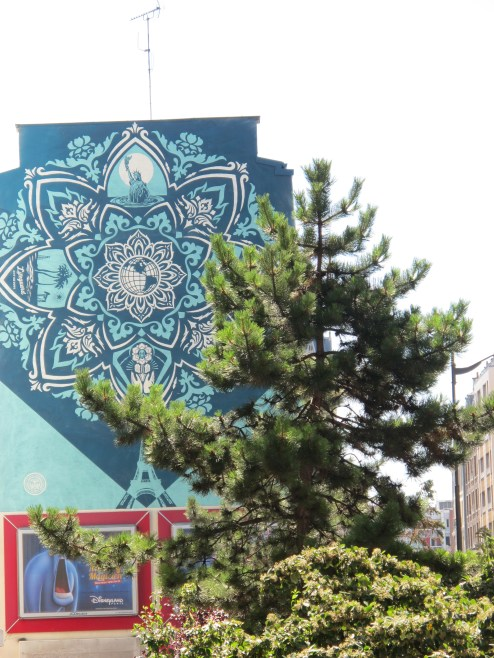 P3 Monumental Paris 13_Shepard Fairey_Rue Jeanne D Arc_4