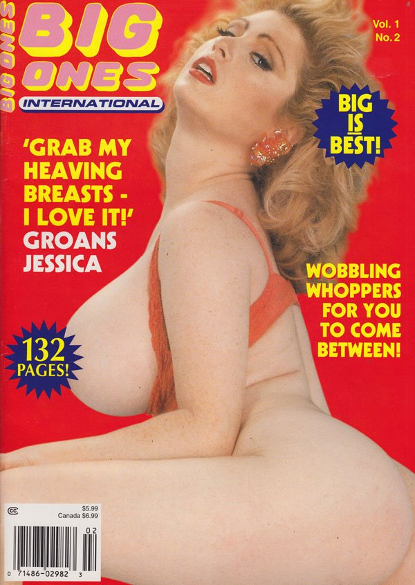 Big Ones International Vol 1  2 Adult Magazine Back