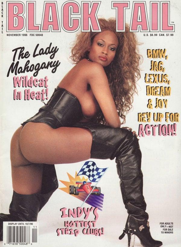 Black Tail November 1996 Magazine Back Issue Black Tail