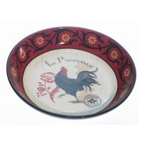 La Provence Rooster Tuscan or French Country Pasta Serving ...