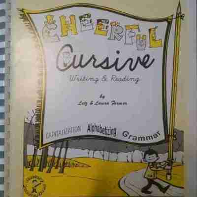 Cheerful Cursive by Letz and Laura Farmer