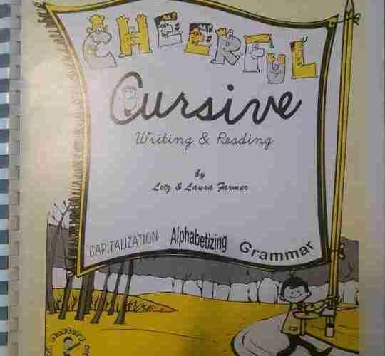 Cheerful Cursive by Letz and Laura Farmer