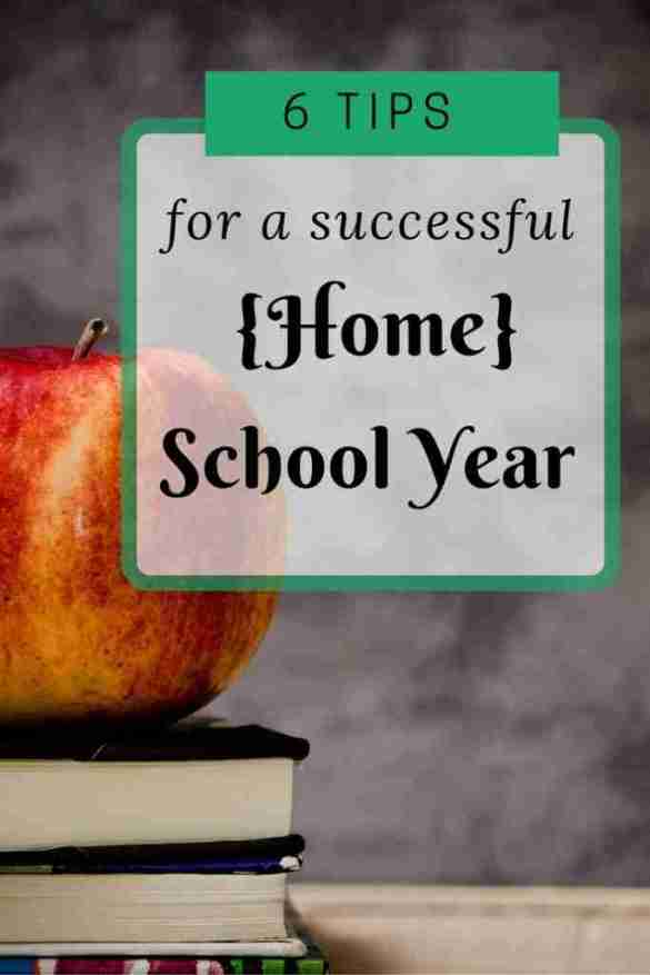 Tips for a Successful home school year