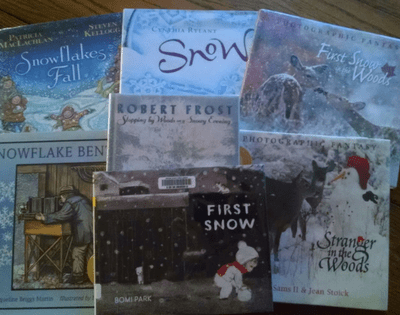 Strikingly Beautiful Picture Books About Snow