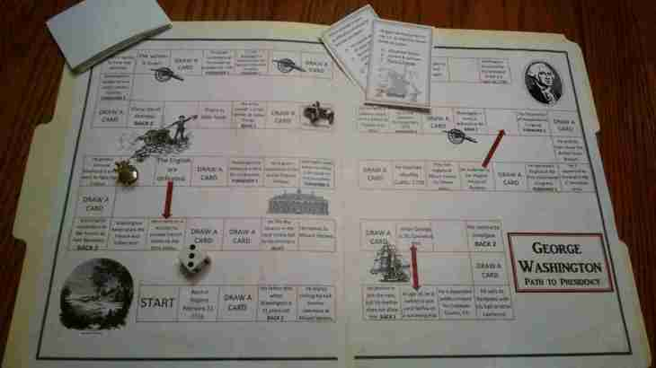 Free President's Day File Folder Game- Life of George Washington
