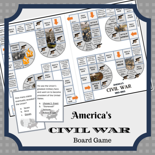 Civil War Game