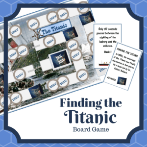Finding the Titanic Board Game