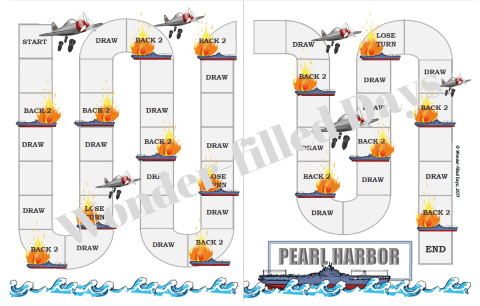 graphic relating to Printable File Folder Game known as Pearl Harbor Printable Document Folder Match - Ponder-Crammed Times