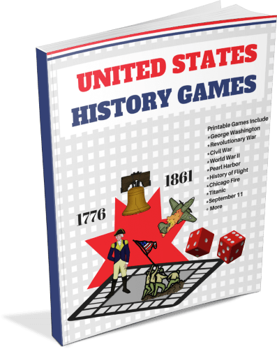 Printable United States History Games Book