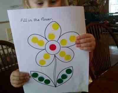 Complete-a-Dot Printable Activities