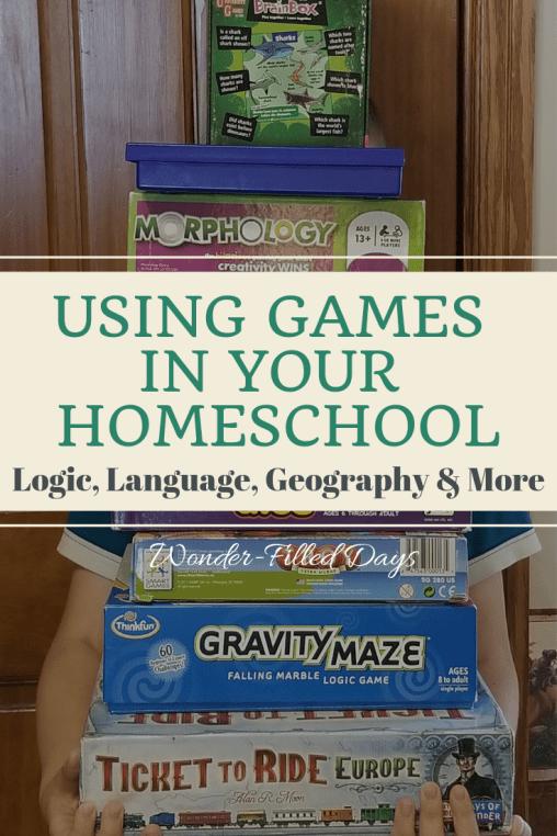 Using Games in Your Homeschool