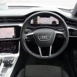 【Audi  アウディ 新型 A7 Sportback】 乗ってないけど見てきました! インテリア編 前席レビュー デジタルで未来感満載!