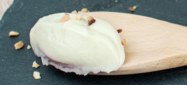 Ganache aus Weißer Schokolade