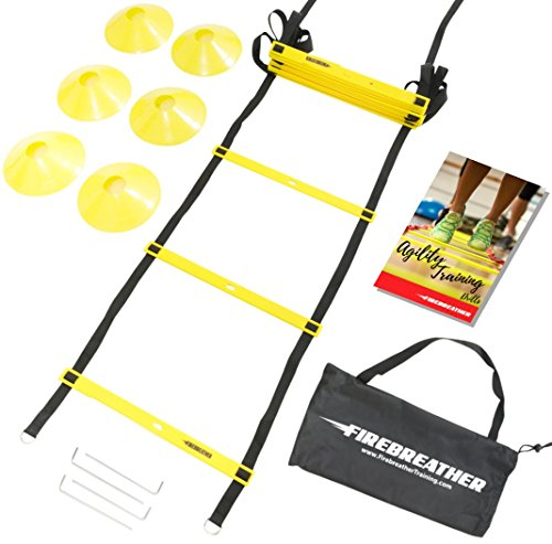 AGILITY LADDER FireBreather Training Adjustable