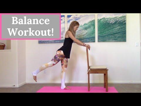 Balance Exercises – 10 Minute Home Workout to Improve Balance