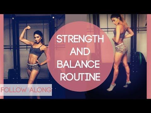 Strength and Balance Workout for Dancers! Follow Along