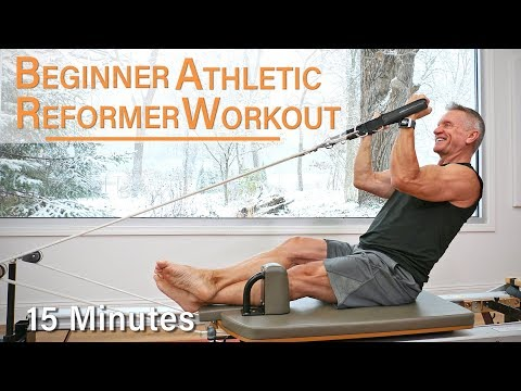 Beginner Athletic Pilates Reformer Workout – 15 Minutes