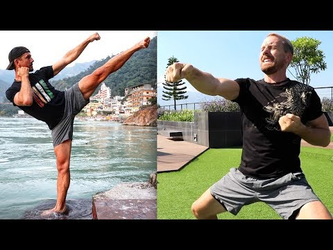 Martial Arts Fitness Training | 10 Exercises | 25 MIN WORKOUT